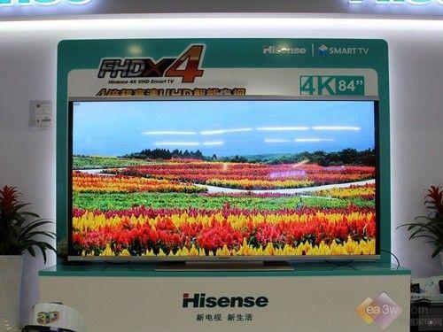 超高清巨幕 海信LED84XT900G3D上市