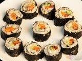 出游自备美食 简单易做三文鱼寿司