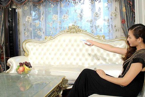 性感惹祸上身 时尚女王被帝樽空调征服
