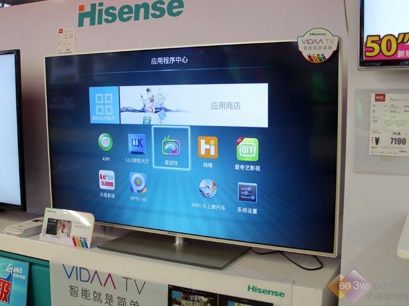 旨在让电视画面更加凸显.-VIDAA TV走俏 海信LED55K600X3D热