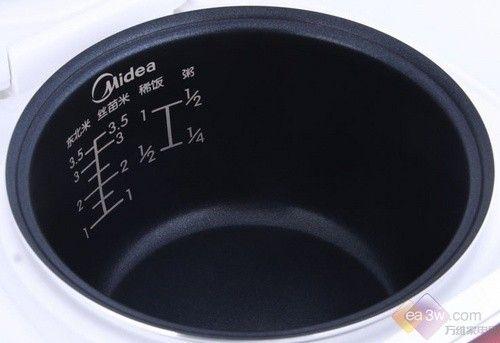 煮出米饭劲道好口感  美的电饭煲售250元