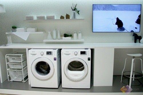 【视频】三星节能冷水洗涤洗衣机亮相IFA