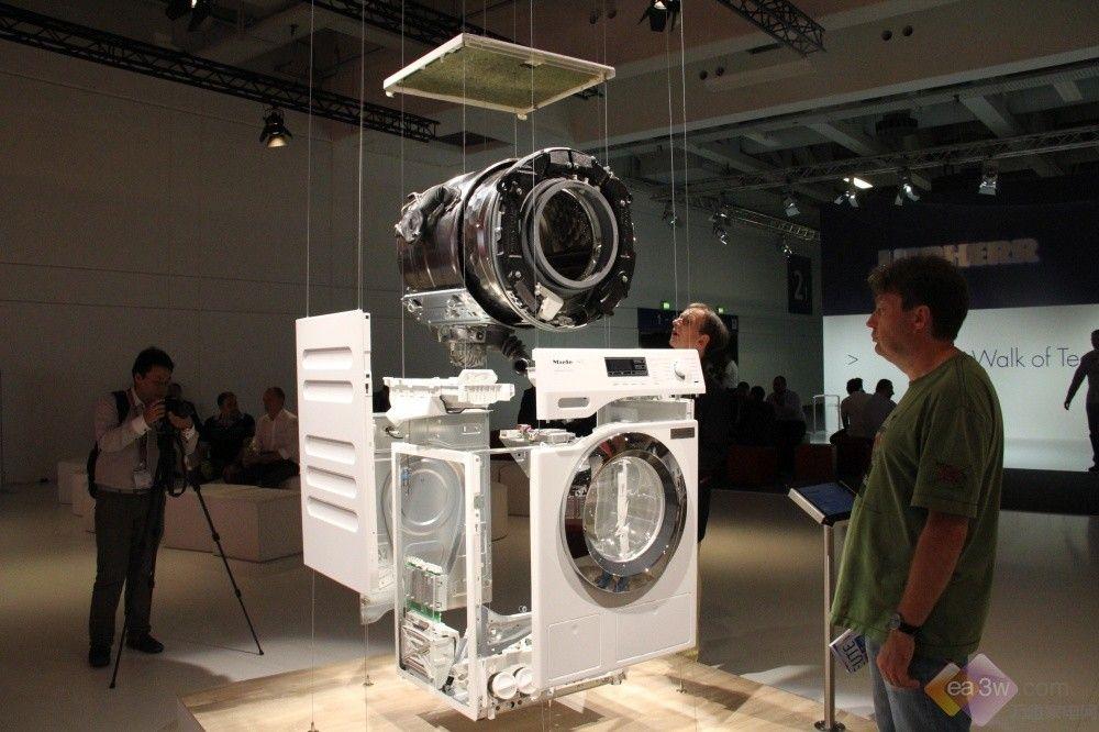 miele滚筒洗衣机分解图第4张图片
