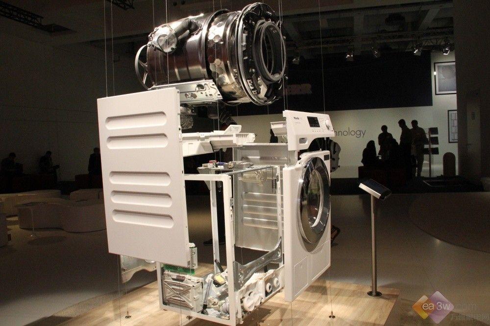 miele滚筒洗衣机分解图