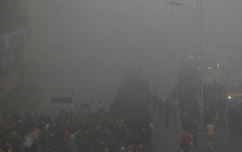 哈尔滨遭 雾霾围城 五大净化器除菌