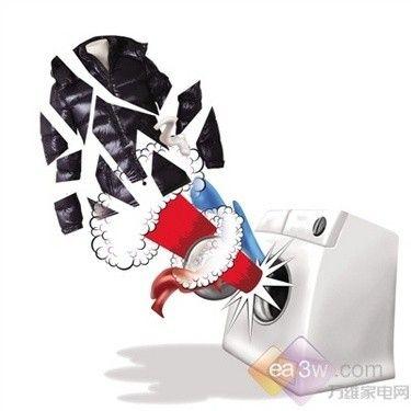 科学大揭秘 啥样的洗衣机洗羽绒服会爆炸?