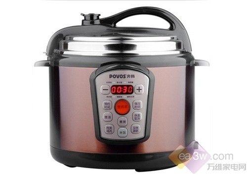 高温高压营养美味 奔腾电压力煲售295元