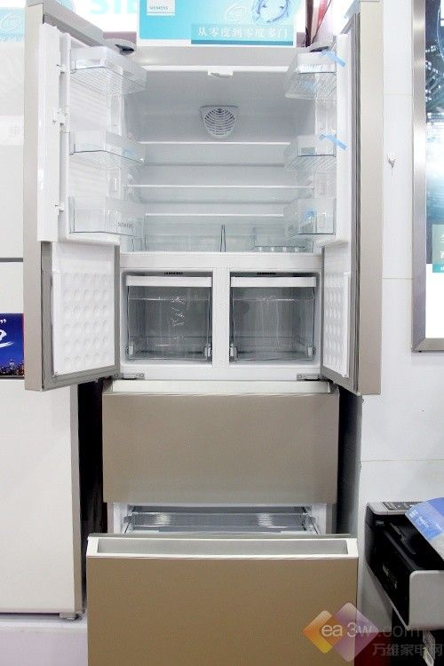 哑光金尽显低调奢华 西门子多门冰箱推荐