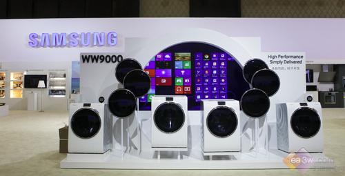 2014三星论坛 WW9000互联网滚筒洗衣机曝光