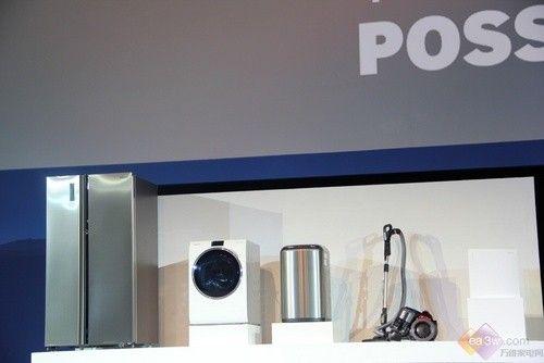 全触摸操控 三星推WW9000互联网滚筒洗衣机
