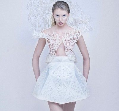 DIY衣服不是梦 3D打印让你成为服饰潮人