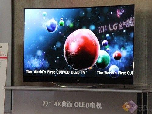 李敏镐强势代言  LG发布2014年新品电视