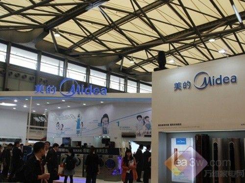 聚焦上海家博会:美的热水器惊艳登场