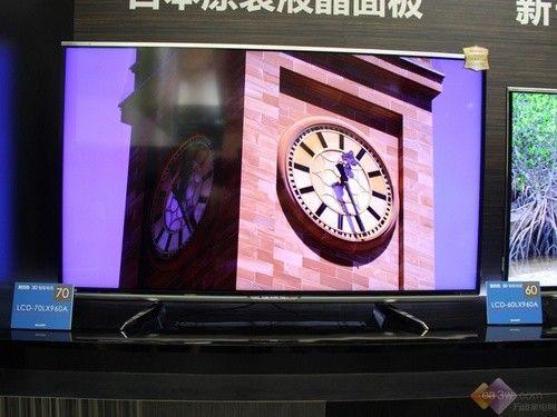 2014上海家博会:夏普巨屏70LX960闪耀全场