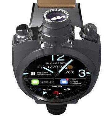 限量500只  4100万像素智能手表将亮相