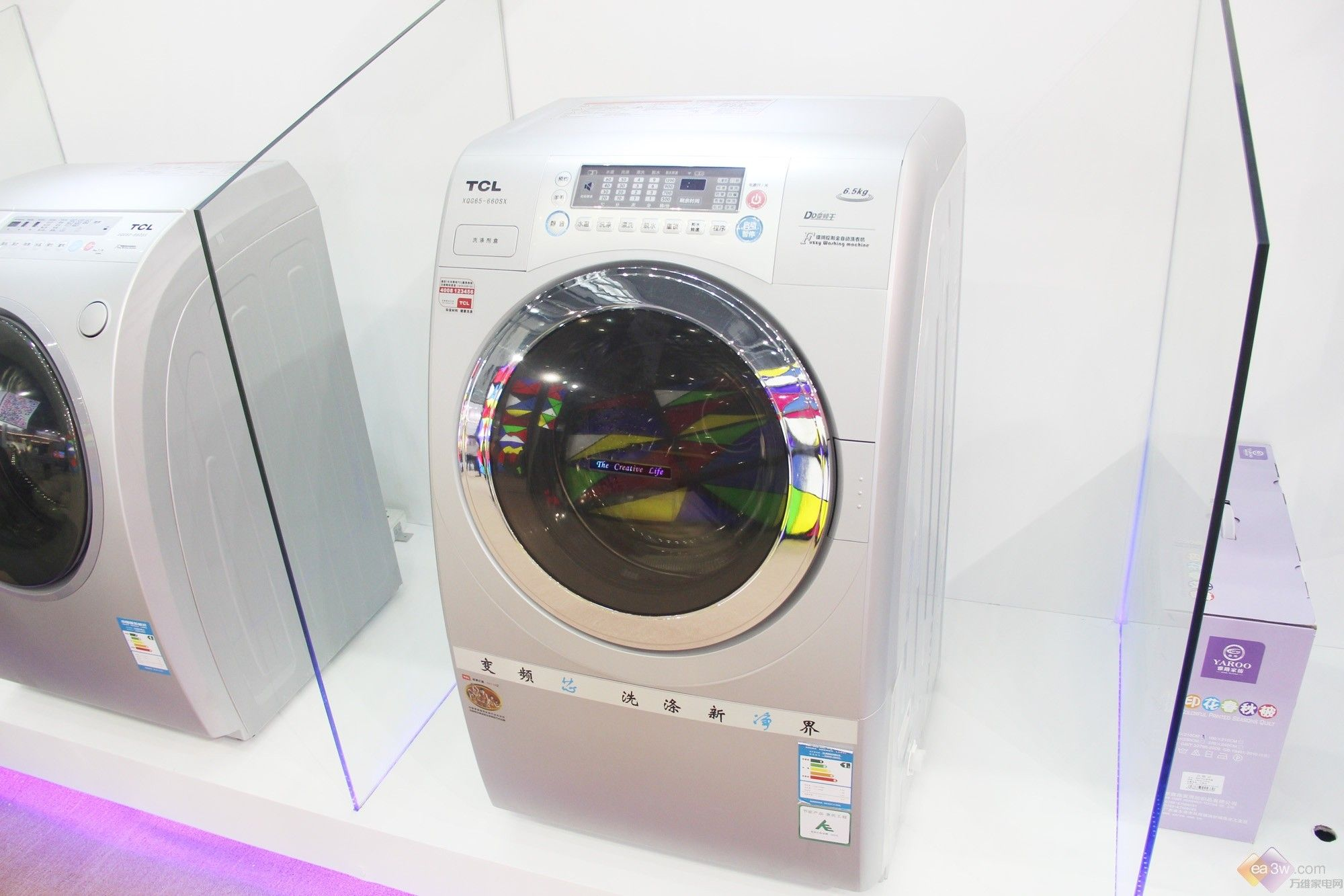 tcl xqg60—660sx洗衣机配有dd直驱变频电机,能有效节能,同时也