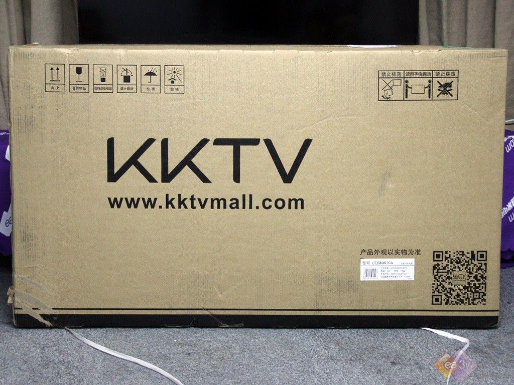简洁外观纤细机身 kktv led49k70a图赏