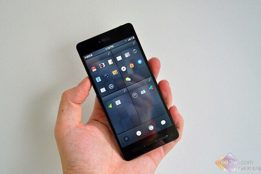 用iphone玩安卓?锤子手机真机抢先图赏