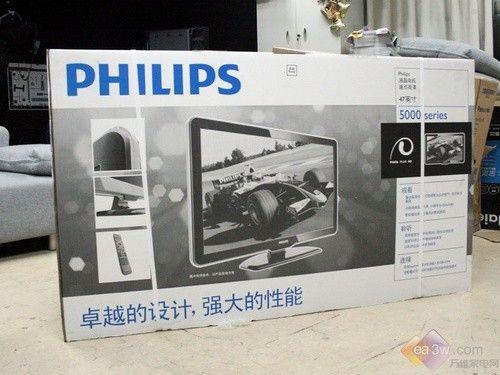 飞利浦电子公司,我们可以看到飞利浦的电视机从外包装箱开始高清图片