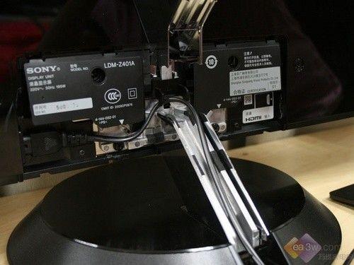 首頁 平板電視頻道 評測 深度 正文      在索尼40zx1的機身右下角