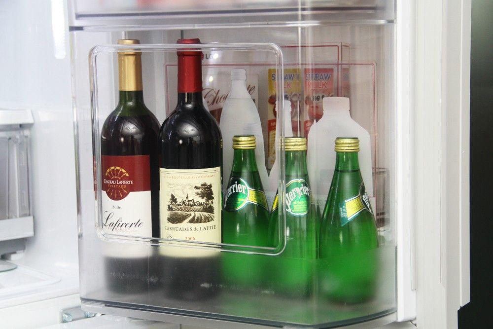"""创意设计""""门中门"""" lg四门冰箱产品赏析图片"""