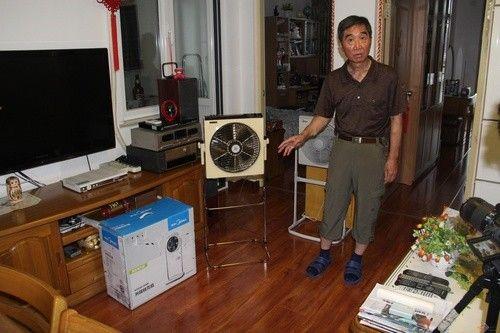二十八年品质传承 老大爷的美的电风扇