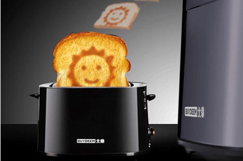 烤出微笑的面包机 北鼎D504多士炉