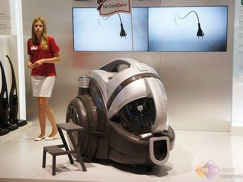 闪耀2014德国IFA:LG吸尘器强势发布