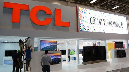 万维第一时间呈现 TCL展台多图曝光