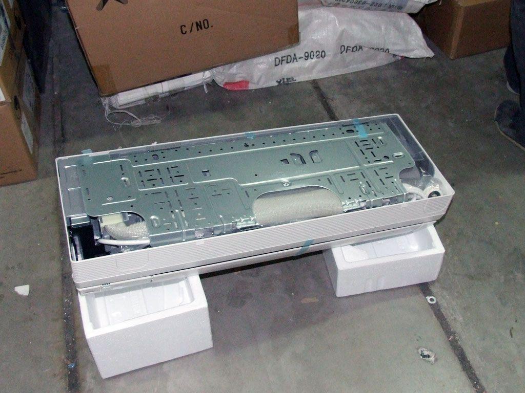 海尔空调室内机外壳怎么拆图解