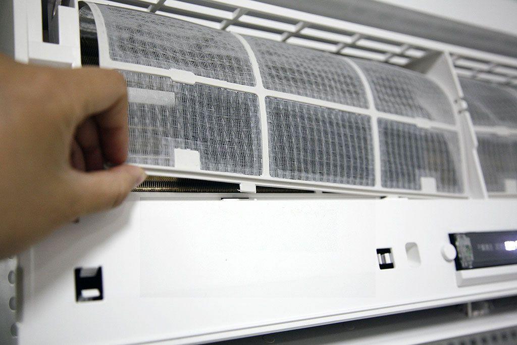 空调过滤网拆装