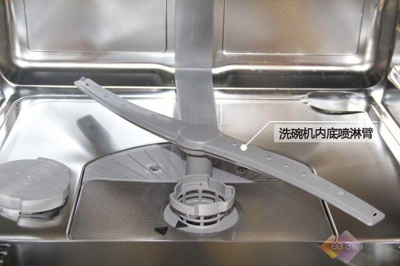 一键智能洗 博世SMI59M05TI洗碗机美图赏析第