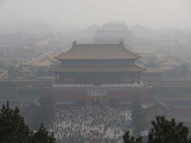 """家电图说:北京城再次遭遇""""十面霾伏"""""""