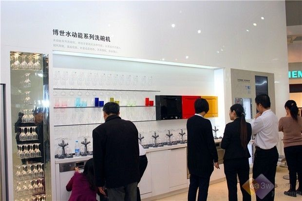 打造彩色厨房 博世水动能洗碗机亮相CIKB