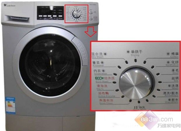 洗干一体 小天鹅滚筒洗衣机仅售3081元