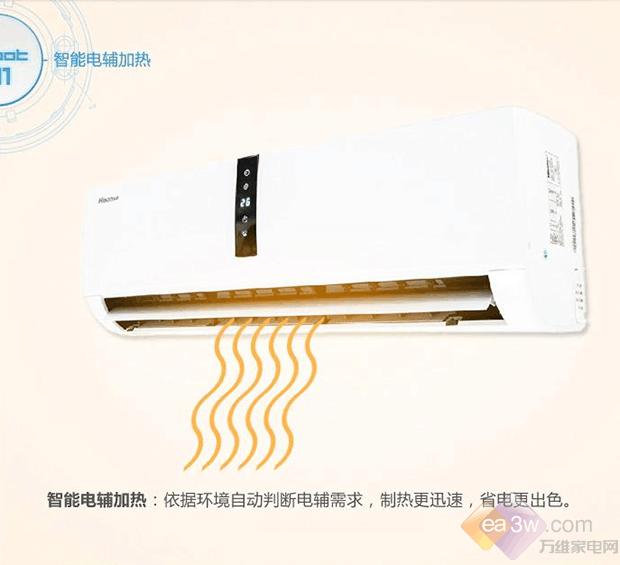 尖端智能科技 海信挂机空调国美热卖中