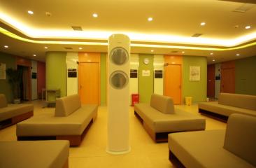 "SAMSUNG""优质空气安全地带""落户健康管理机构"