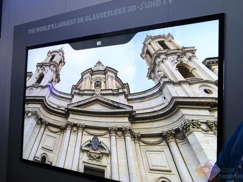聚焦CES2015:三星首款8K裸眼3D SUHD登场