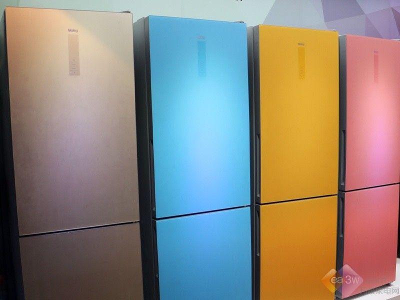 保质期随时提醒 美菱CHiQ冰箱亮相CES