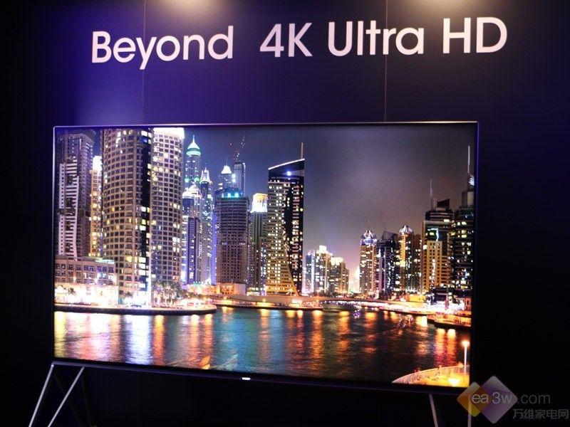 聚焦CES2015:夏普展示Beyond 4K电视新品