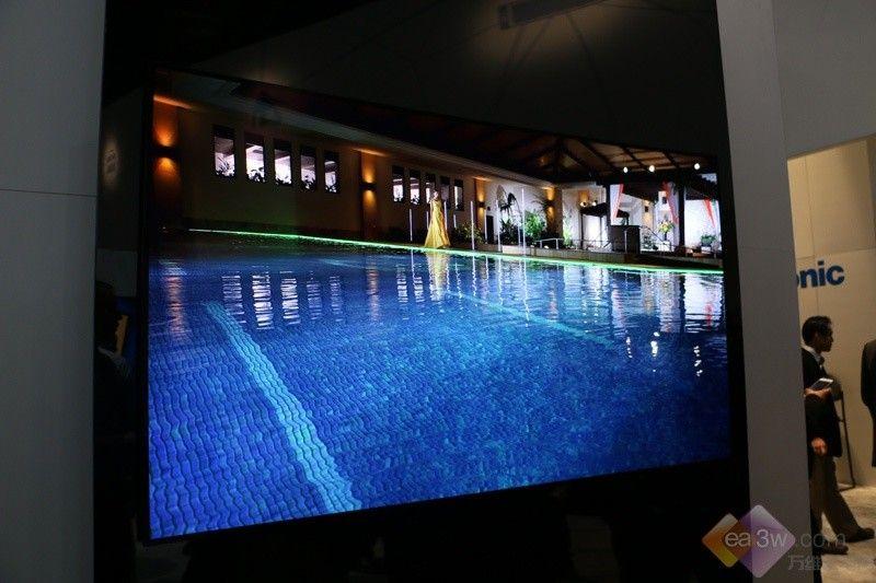 来CES试水?松下4K OLED电视首次亮相