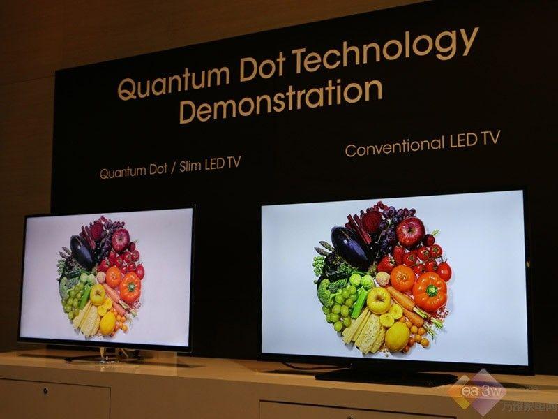 聚焦CES2015:夏普推出量子点新品电视