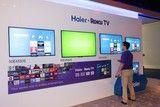Roku TV再添新军 与海尔合作产品亮相CES
