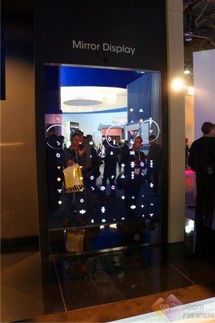 超薄量子点电视首秀 夏普CES展台揭秘