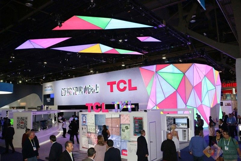 鼓吹多彩时尚风 TCL CES 2015展台探秘