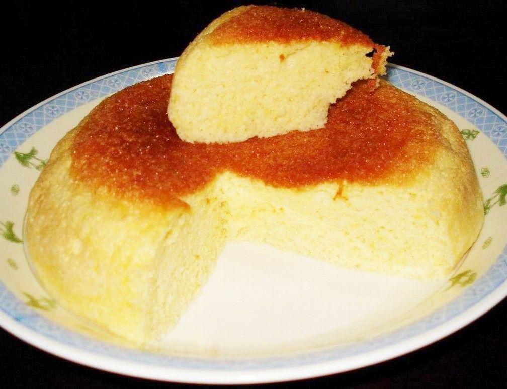 教你用压力锅做蛋糕