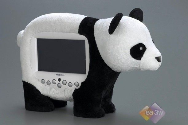 大象熊猫齐上阵 新款动物液晶电视曝光