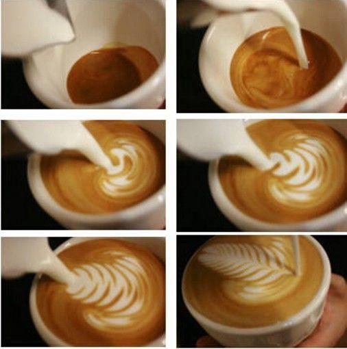 用咖啡雕镂的狗亚体育手机登录 咖啡拉花详细教程