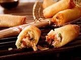 吃出健康不怕胖 空气炸锅制作三鲜春卷