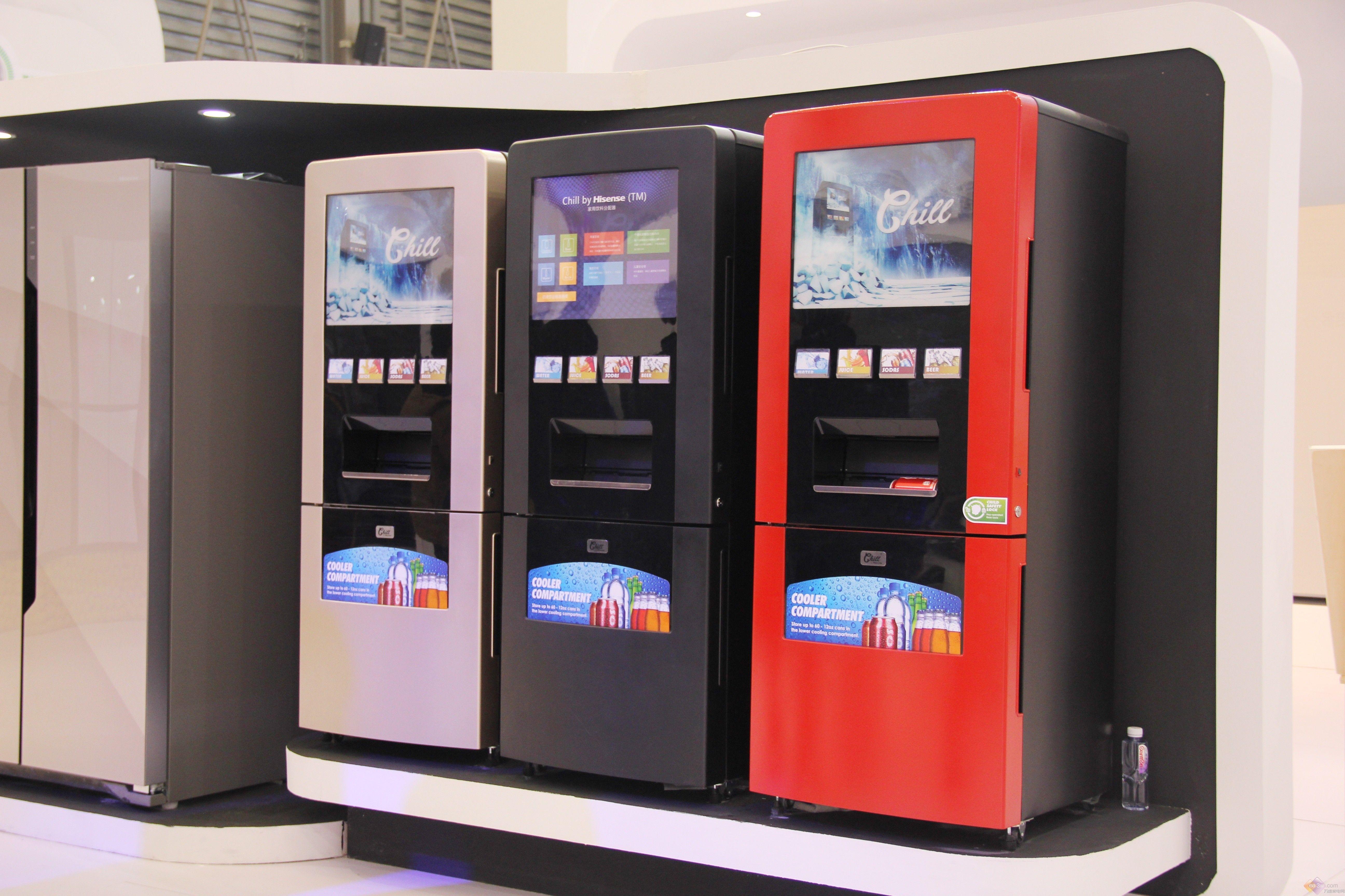 E评测:海信家庭饮料分配器随时提供饮品